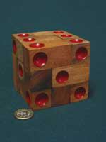 Double 6 dice puzzle